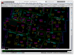 AutoCAD 2010 Displaying the Survey