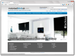 Screenshot of MBUK's New Store